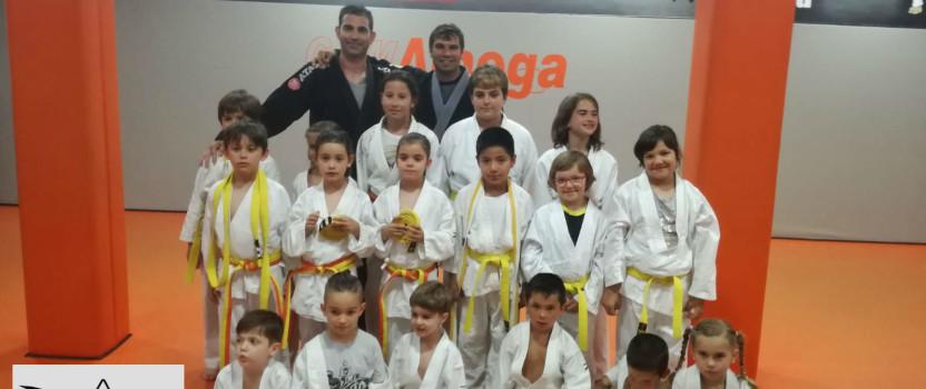 Graduación niños Brazilian Jiu jitsu
