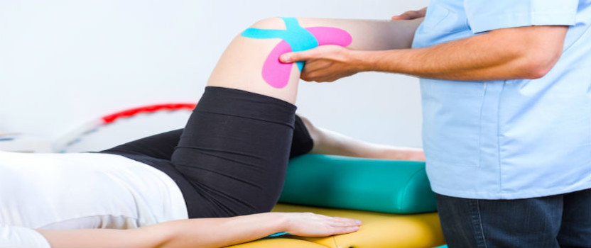 Rehabilitación de lesión en la rodilla con el método pilates